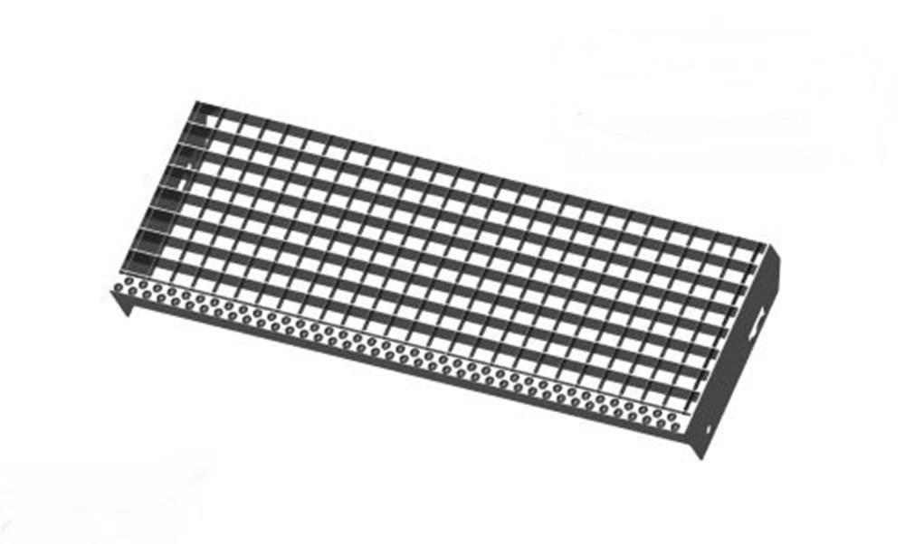 Pressroststufe | Maße: 600x240 mm 30/30 mm | S235JR (St37-2)