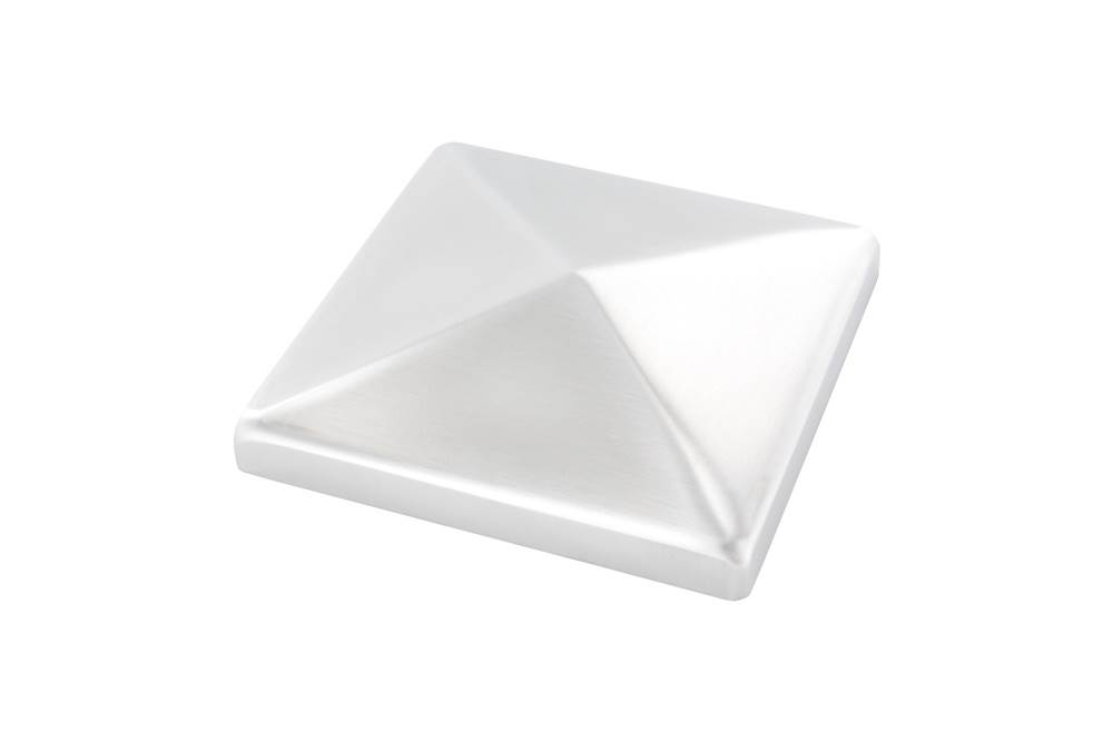 Pyramidenkappe | für Vierkantrohr: 100x100 mm | V2A