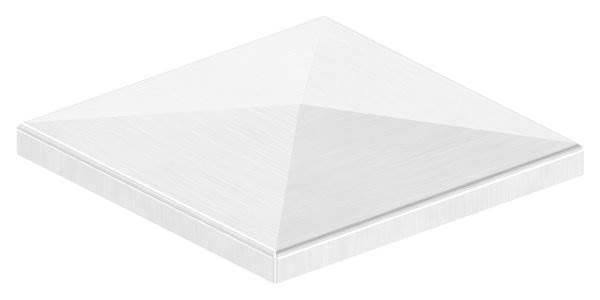 Pyramidenkappe | für Vierkantrohr: 120x120 mm | V2A