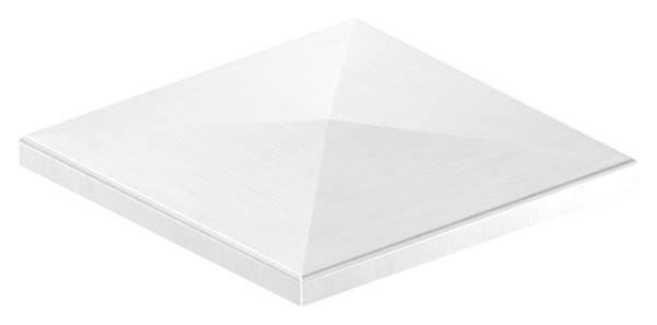 Pyramidenkappe | für Vierkantrohr: 140x140 mm | V2A