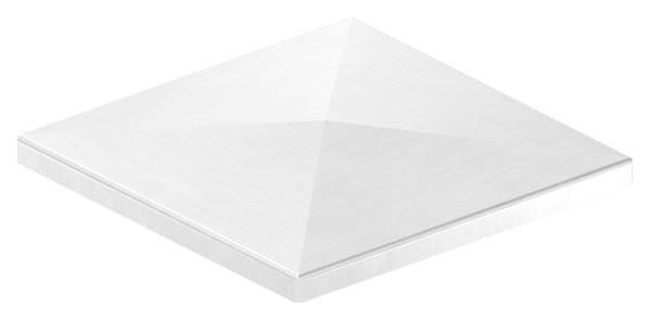 Pyramidenkappe | für Vierkantrohr: 150x150 mm | V2A