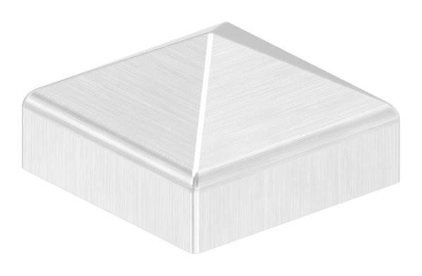 Pyramidenkappe | für Vierkantrohr: 30x30 mm | V2A