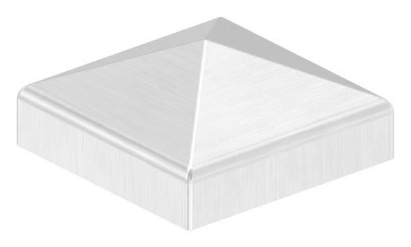 Pyramidenkappe | für Vierkantrohr: 40x40 mm | V2A