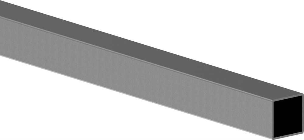 Quadratrohr | Maße: 60x60x3 mm | Länge: 6000 mm | Stahl S235JR, roh