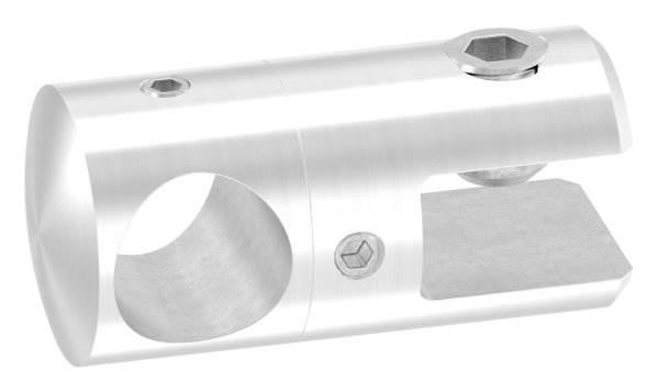 Querstab-Plattenhalter Ø 25 mm mit Bohrung 16,2 mm