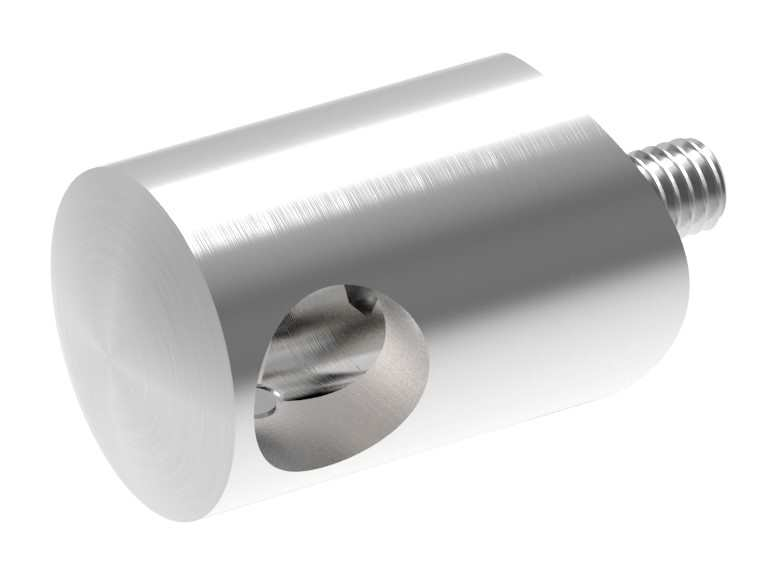 Querstabhalter mit Bohrung 10,2 mm | für Ø 33,7 mm