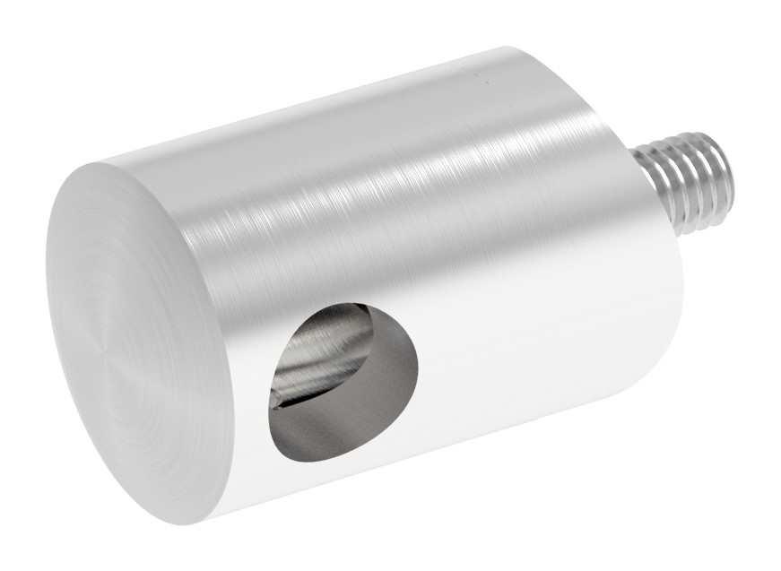 Querstabhalter mit Bohrung 10,2 mm | für Ø 42,4 mm
