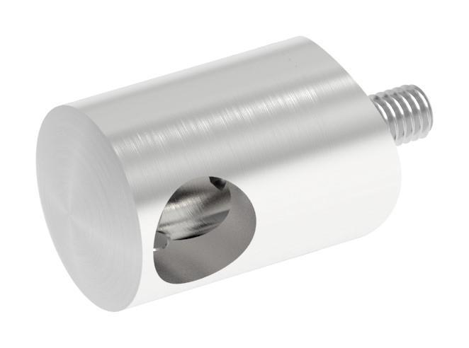 Querstabhalter mit Bohrung 12,2 mm | für Ø 42,4 mm