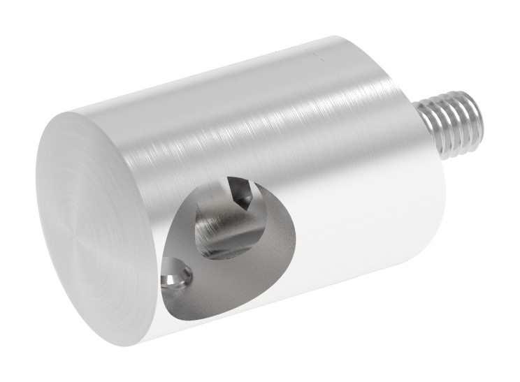 Querstabhalter mit Bohrung 14,2 mm | für Ø 48,3mm