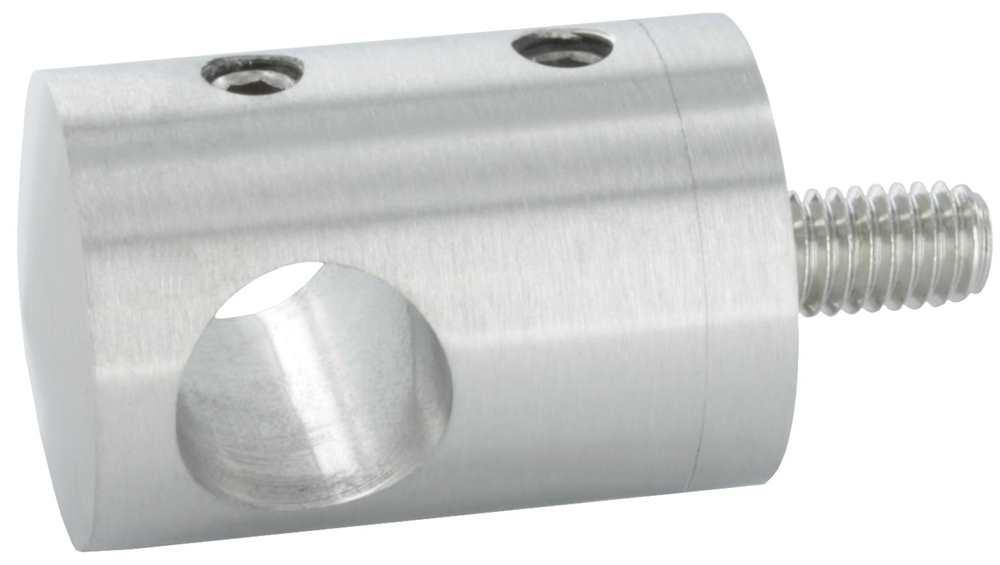 Querstabhalter mit Bohrung 14,2 mm | für  Flach