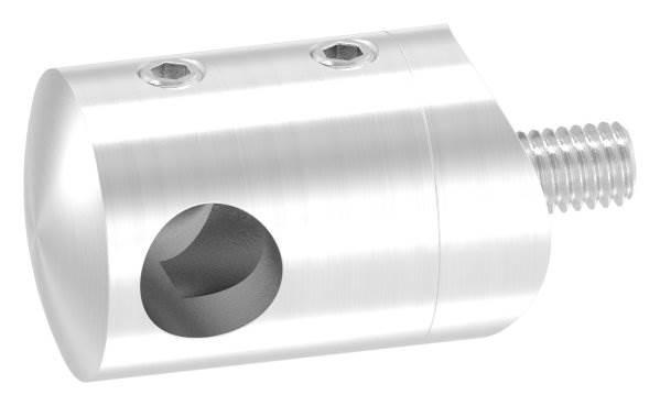 Querstabhalter mit Sackloch 10,2 mm (links) | für Ø 33,7mm