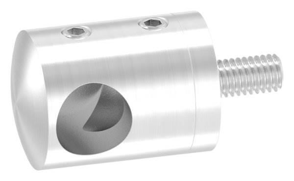 Querstabhalter mit Sackloch 12,2 mm (links) | für ■ Flach