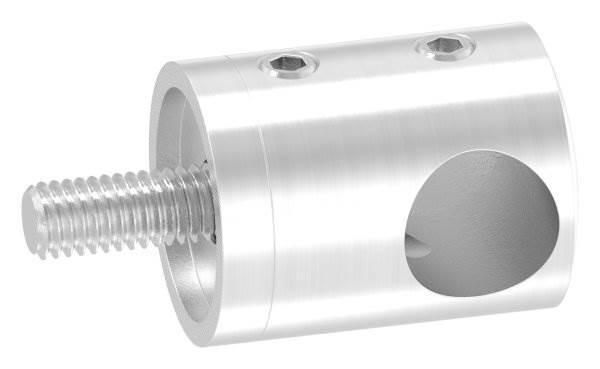 Querstabhalter mit Sackloch 12,2 mm (rechts) | für ■ Flach