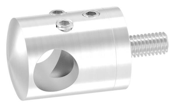 Querstabhalter zum Stoßen mit Bohrung 12,2 mm | für ■ Flach