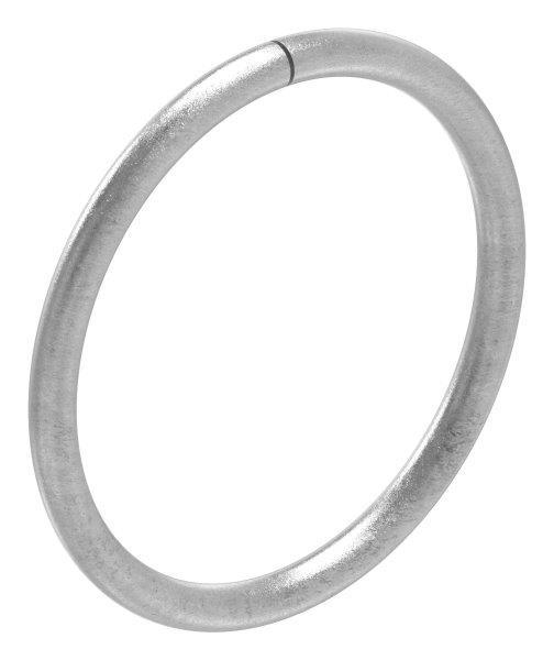 Ring | Material: 10 mm | Außen-Ø 130 mm | Stahl S235JR, roh