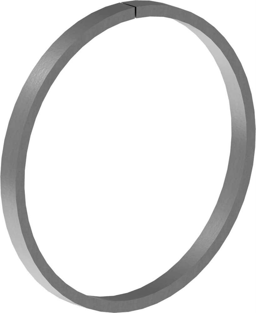 Ring | Material: 12x6 mm | Außen-Ø 120 mm | Stahl