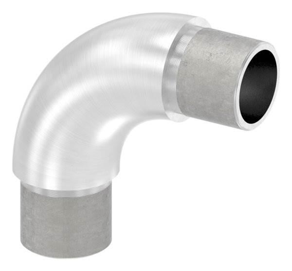 Rohrbogen 90° rund, für Rundrohr Ø 26,9x2,0 mm V2A