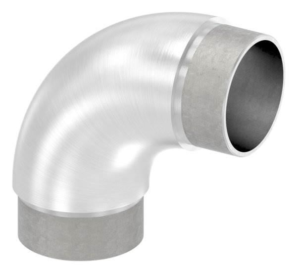 Rohrbogen 90° rund, für Rundrohr Ø 48,3x2,0 mm V2A