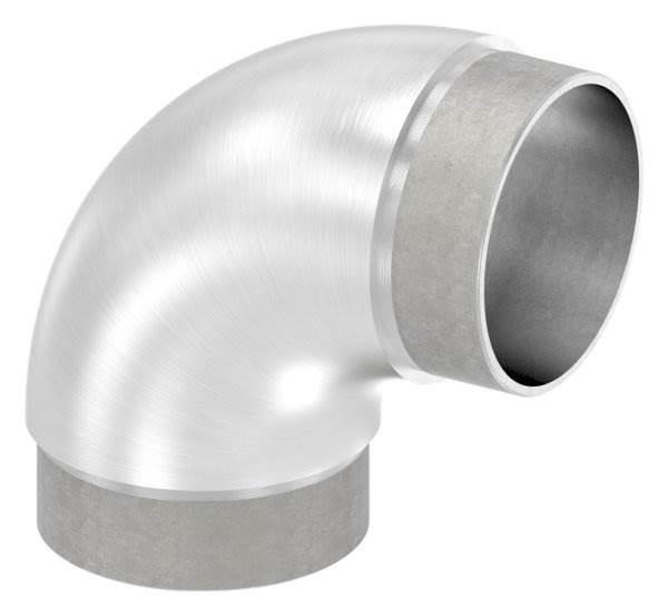 Rohrbogen 90° rund, für Rundrohr Ø 60,3x2,0 mm V2A