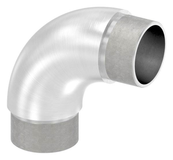 Rohrbogen 90° rund V2A für Rundrohr Ø 40,0x2,0 mm