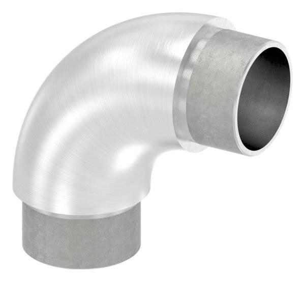 Rohrbogen 90° rund V2A für Rundrohr Ø 42,4x3,0 mm