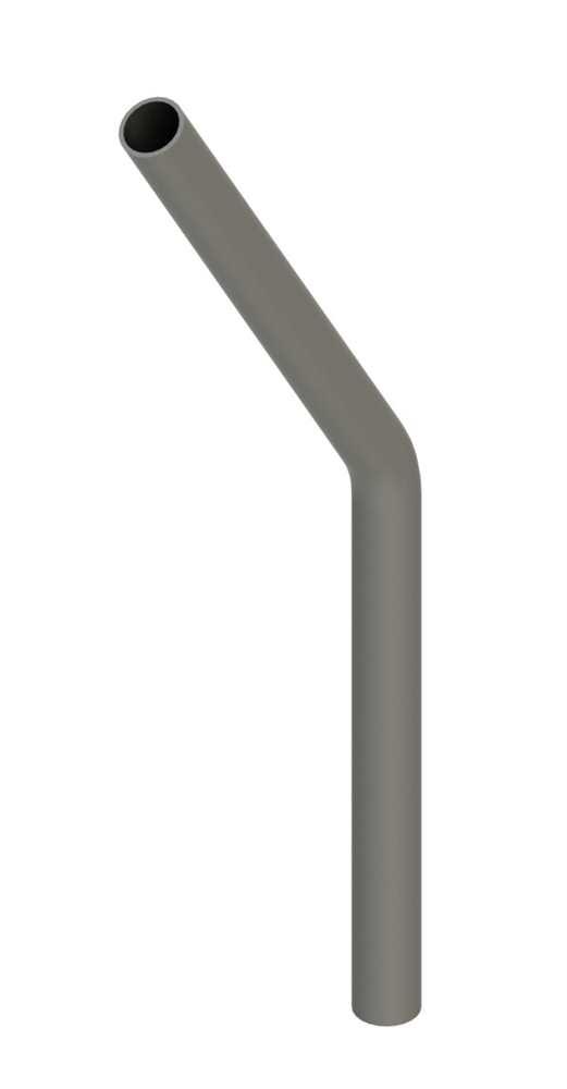 Stahl Rohrbogen | 30° | 26,9x2,0 mm | Stahl S235JR, roh