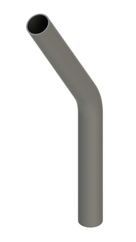 Stahl Rohrbogen | 30° | 42,4x2,5 mm | Stahl S235JR, roh