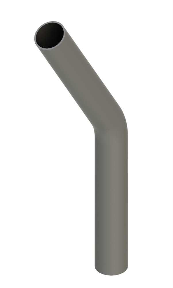Stahl Rohrbogen | 30° | 48,3x2,5 mm | Stahl S235JR, roh