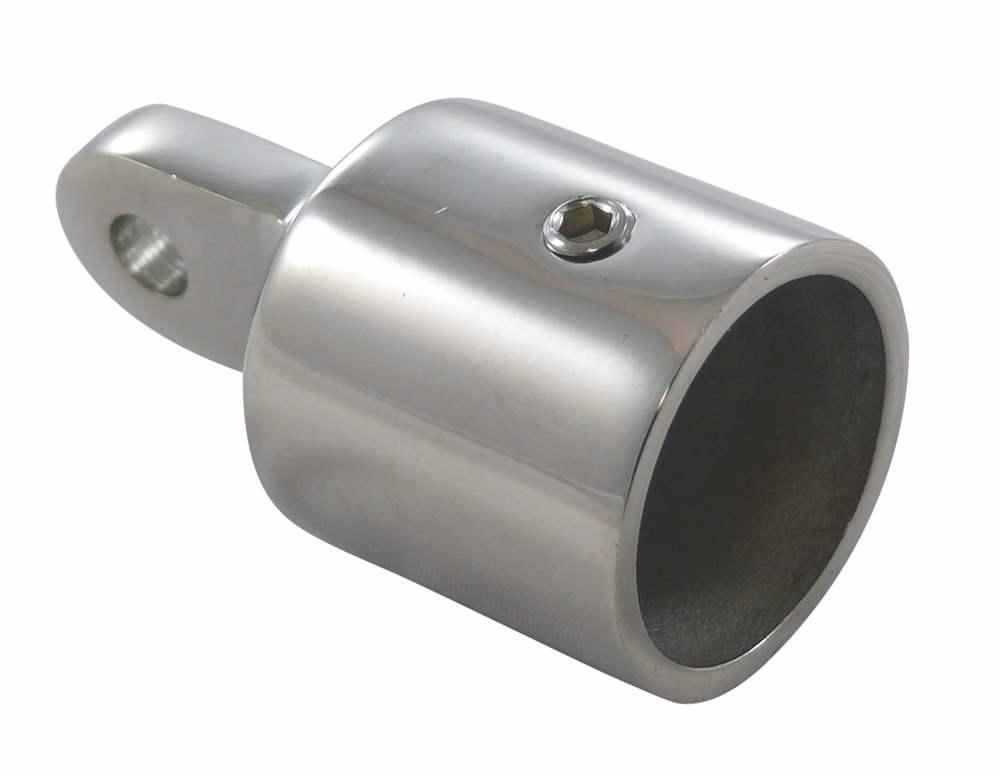 Rohrendkappe | Stopfen | Loch: 6,6 mm - 8,3 mm | V4A