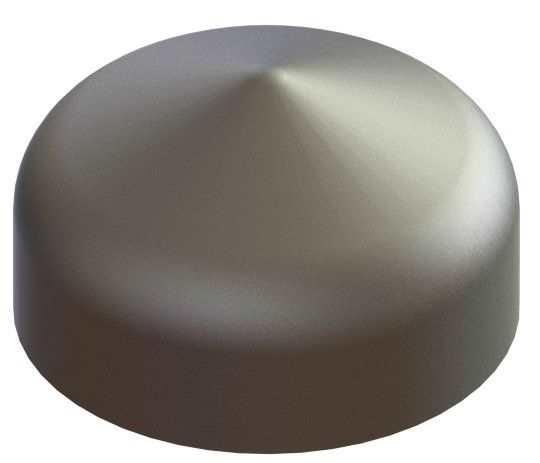 Abdeckkappe | für Rundrohr | Ø 30 mm | Stahl S235JR, roh