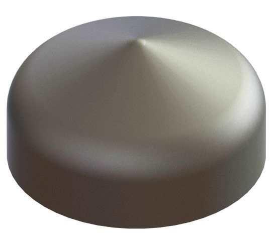 Abdeckkappe | für Rundrohr | Ø 33,7 mm | Stahl S235JR, roh