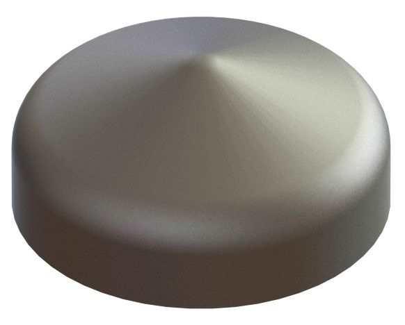 Abdeckkappe | für Rundrohr | Ø 42,4 mm | Stahl S235JR, roh