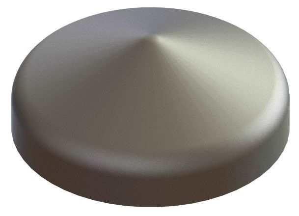 Abdeckkappe | für Rundrohr | Ø 60,3 mm | Stahl S235JR, roh