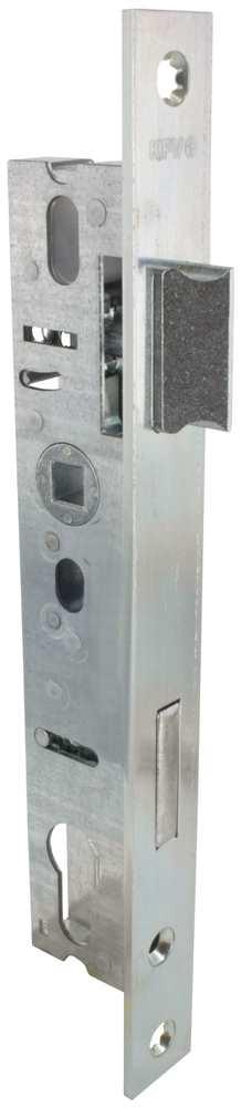 Rohrprofilschloss | Dornmaß: 22 mm | Stahl (verzinkt) S235JR