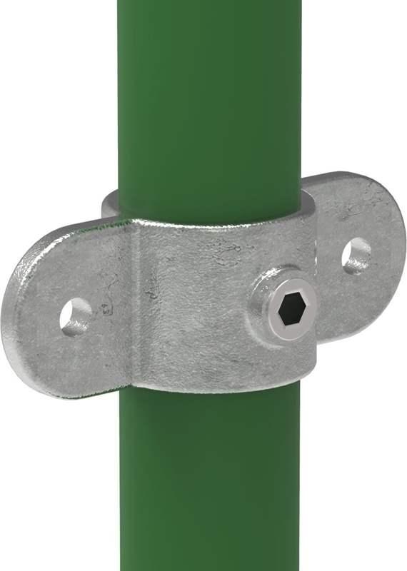 Rohrverbinder | Gelenkauge doppelt | 167M | 26,9 mm - 60,3 mm | 3/4 - 2 | Temperguss u. Elektrogalvanisiert