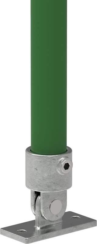 Rohrverbinder   Gelenkfuß   169B34   33,7 mm   1   Temperguss u. Elektrogalvanisiert