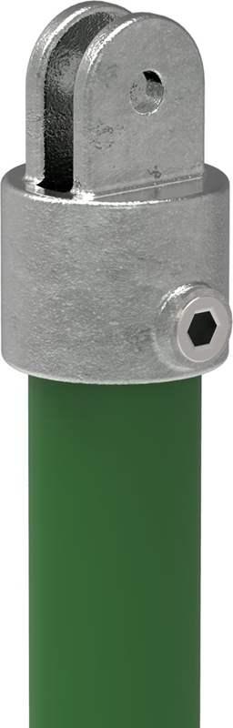 Rohrverbinder | Gelenkhalter | 173FB34 | 33,7 mm | 1 | Temperguss u. Elektrogalvanisiert