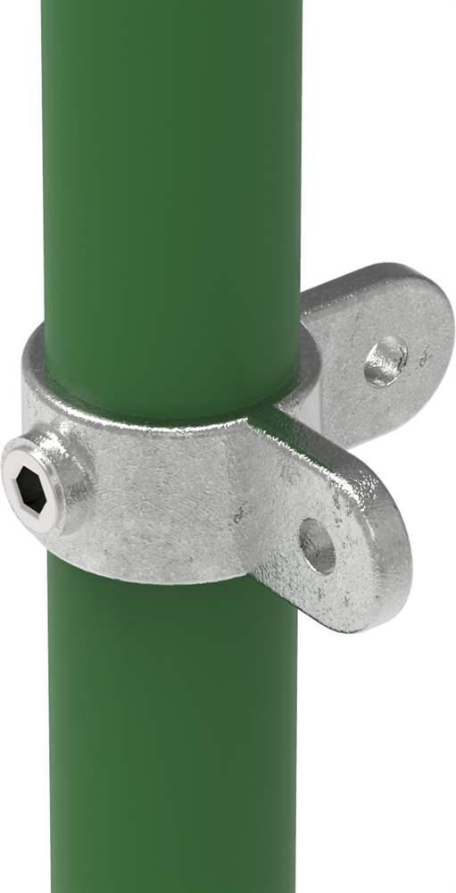 Rohrverbinder | Gelenkstück doppelt 90° | 168M | 26,9 mm - 60,3 mm | 3/4 - 2 | Temperguss u. Elektrogalvanisiert