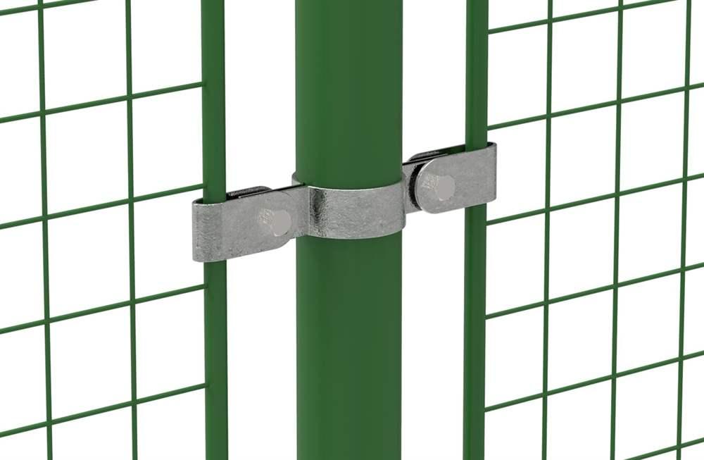 Rohrverbinder | Gitterhalter doppelt | 171 | 26,9 mm - 60,3 mm | 3/4 - 2 | Temperguss u. Elektrogalvanisiert