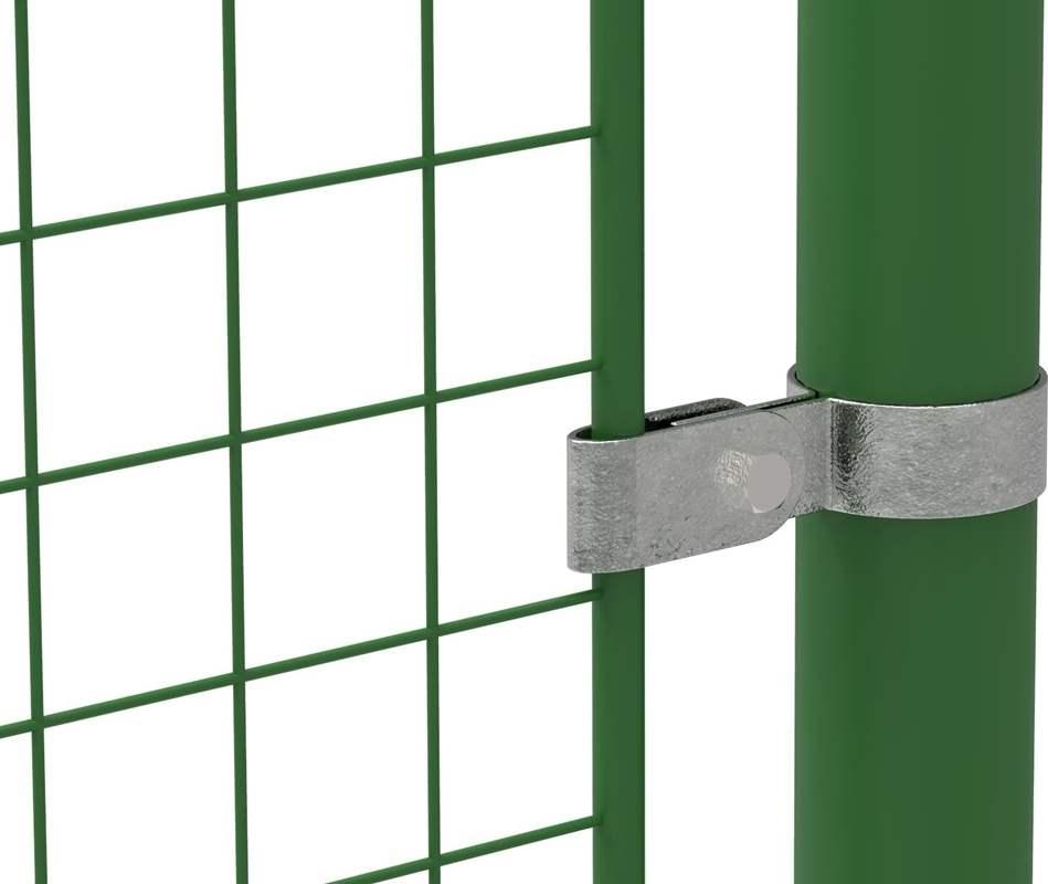 Rohrverbinder | Gitterhalter einfach | 170 | 26,9 mm - 60,3 mm | 3/4 - 2 | Temperguss u. Elektrogalvanisiert