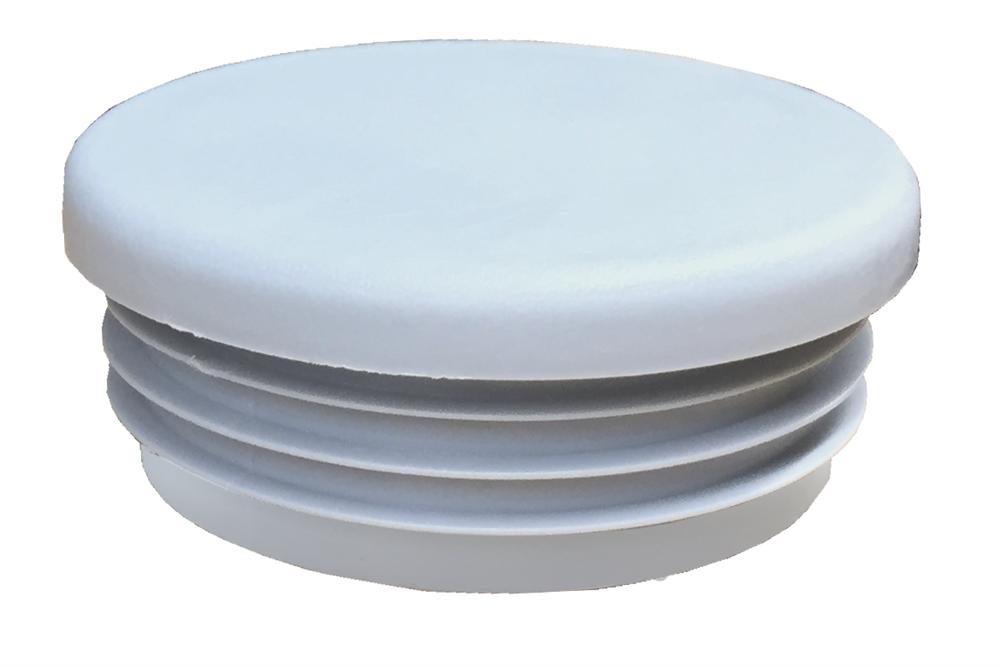 Rohrverbinder | Kunststoffstopfen hellgrau | 133 | 21,3mm - 60,3mm | 1/2-2