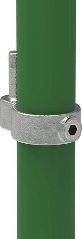 Rohrverbinder | Stellringzapfen | 140 | 26,9 mm - 48,3 mm | 3/4 - 1 1/2 | Temperguss u. Elektrogalvanisiert