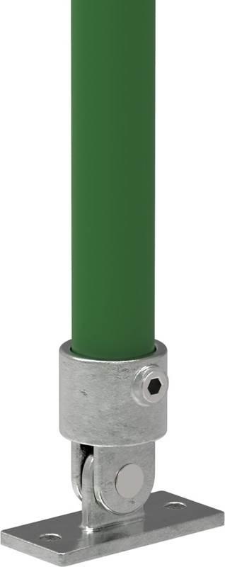Rohrverbinder | Gelenkfuß | 169 | 26,9 mm - 60,3 mm | 3/4 - 2 | Temperguss u. Elektrogalvanisiert
