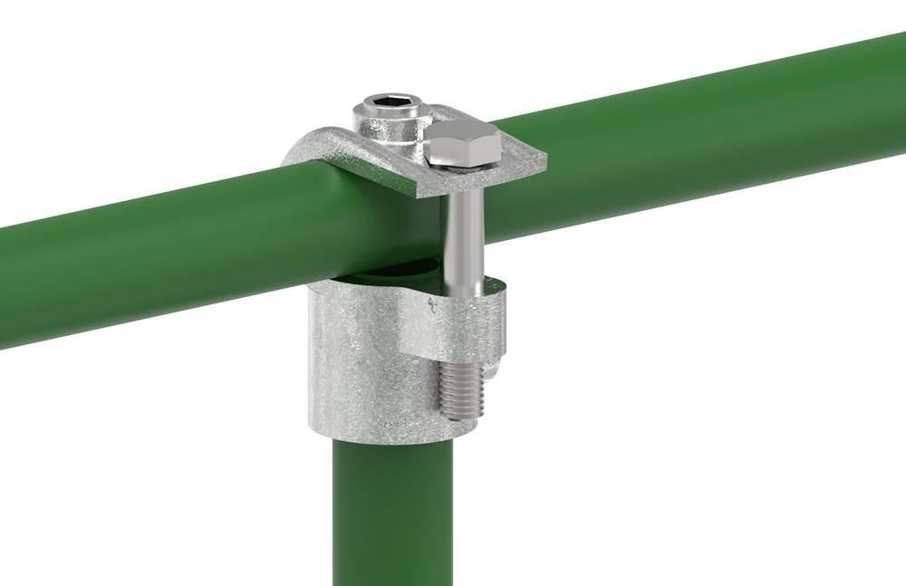 Rohrverbinder | T-Stück offen | 135 | 33,7 mm - 60,3 mm | 1 - 2 | Temperguss u. Elektrogalvanisiert
