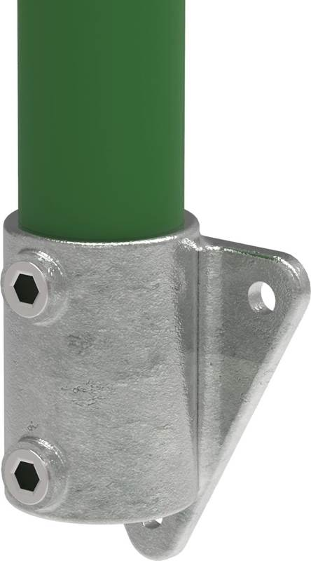 Rohrverbinder | Wandhalterung / Deckenhalterung | 146 | 33,7 mm - 48,3 mm | 1 - 1 1/2 | Temperguss u. Elektrogalvanisiert
