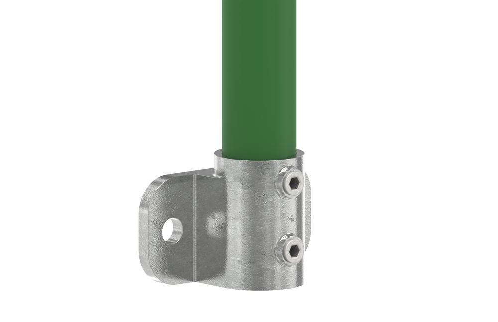 Rohrverbinder | Wandhalterung für seitliche Befestigung | 246 | 33,7 mm - 48,3 mm | 1 - 1 1/2 | Temperguss u. Elektrogalvanisiert
