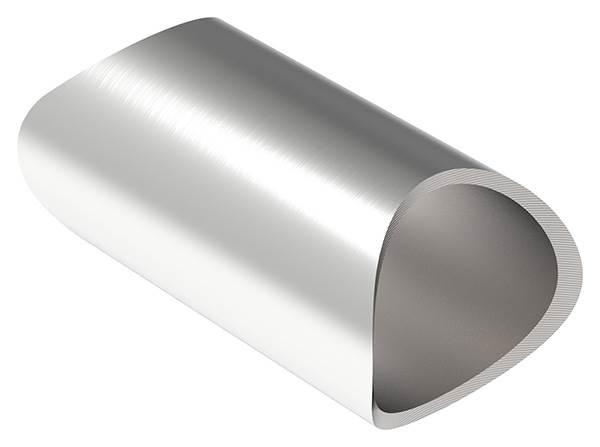 Rohrverbindungsstück für Rundrohr Ø 33,7 mm V2A