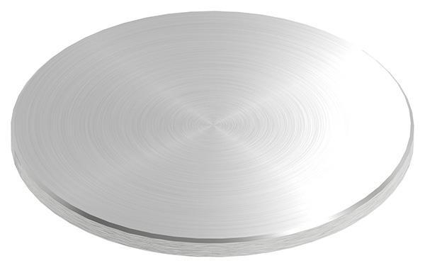 Ronde Ø 120x6 mm mit Rundschliff + Fase V2A