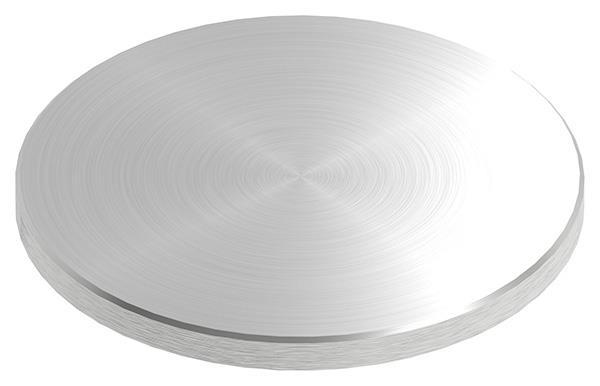 Ronde Ø 120x8 mm mit Rundschliff + Fase V2A