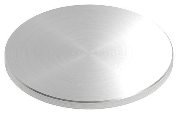 Ronde Ø 150x8 mm mit Rundschliff + Fase V2A